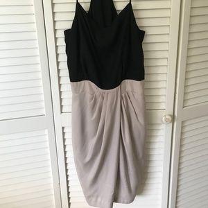 BCBGeneration Black/Tan Dress Size 2